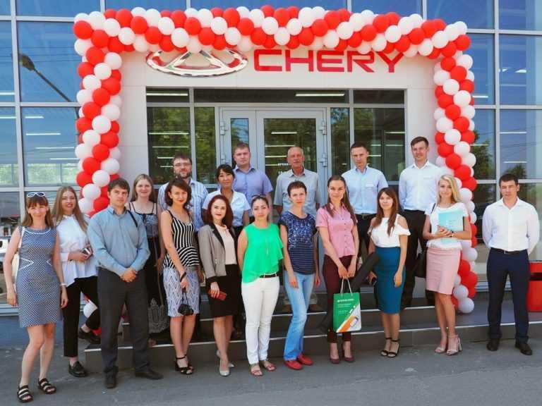 Открытие салона Chery в Иркутске